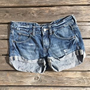 💥5/$25 Divided Mid Rise Jean Shorts